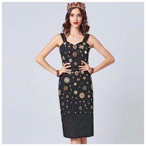 The Katlana Bejeweled 2 Piece Skirt Set